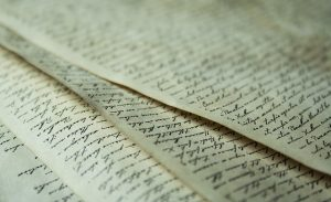 automatic writing, writing, parchment