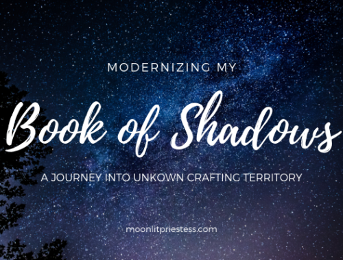 Modernizing my Book of Shadows