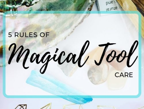 5 rules of magical tool care graphic